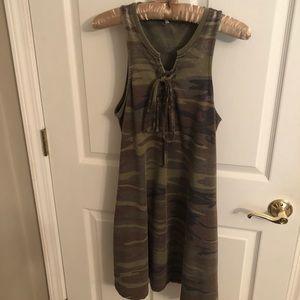 Tank dress camo